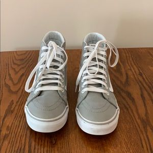 Grey Unisex Hightop Vans